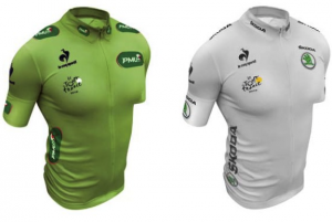 maillot-vert-blanc-coq-sportif