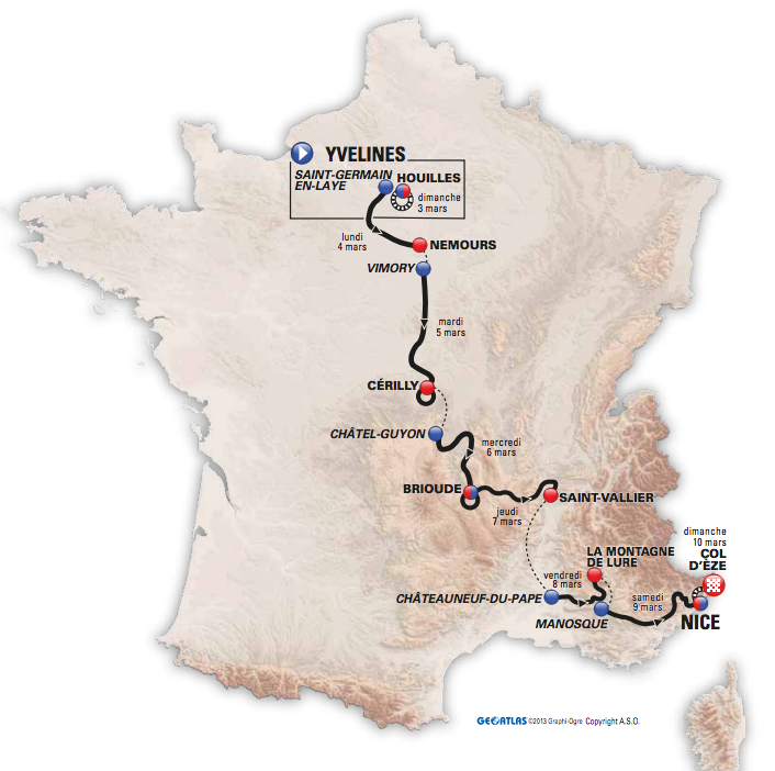 carte-parcours-paris-nice-2013
