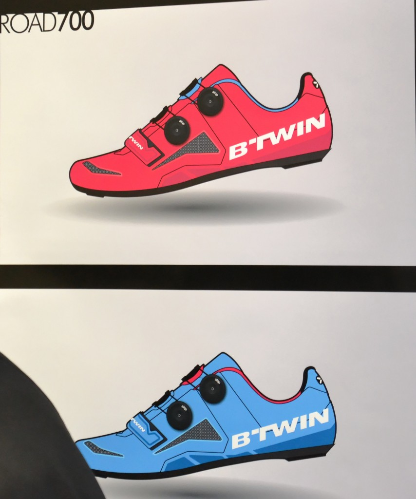Chaussure Btwin Road 700 Péraud