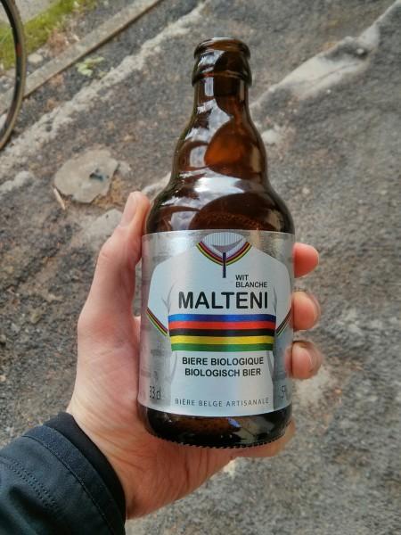 Bière blanche Malteni