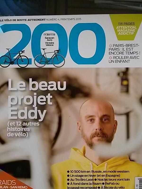 Projet Eddy à la une de 200