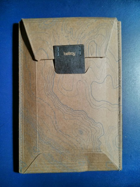 Emballage Portefeuille Bellroy