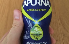 Boisson de récupération Apurna Prolacta