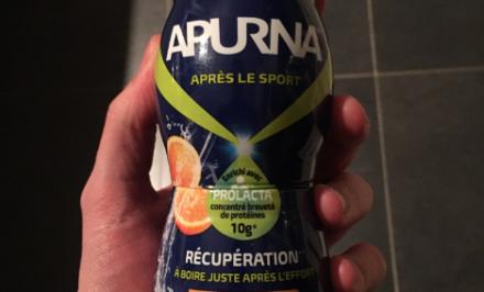 Boisson de récupération Apurna Orange